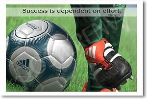 Success-is-dependent-Soccer-Motivational-NEW-POSTER