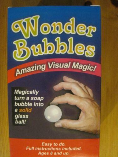 +== Wonder Bubbles magic trick (YT)
