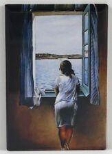 "Locker Magnet. Woman with a Parasol by Monet 2/"" X 3/"" Fridge"