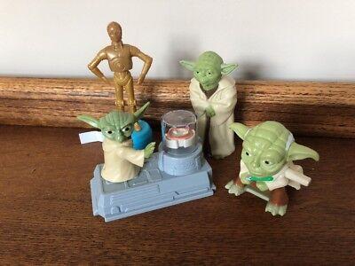 "2010 Jedi Master Yoda 2.5/"" Clip-On #3 McDonalds Opening Action Figure Star Wars"