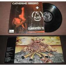 CATHERINE RIBEIRO + ALPES - Libertes? LP ORG French Psych Prog