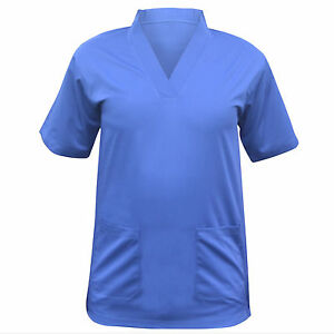 Independent Medical Scrub Men Women Top Tunic Uniform Nurse Hospital Tops Medical Vest 2019 New Fashion Style Online Women's Clothing