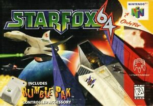 Star-Fox-64-N64-Great-Condition-Fast-Shipping