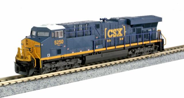 KATO 1768936 N Scale GE ES44DC CSX #5250 GEVO Boxcar logo DC 176-8936