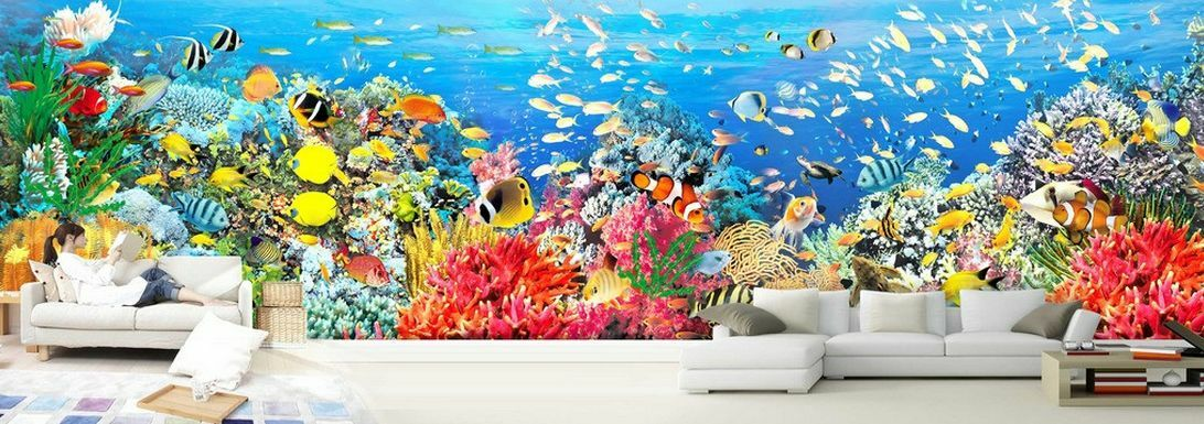 3D Mega Rich Undersea World 40976 Wall Paper Wall Print Decal Wall AJ Wall Paper