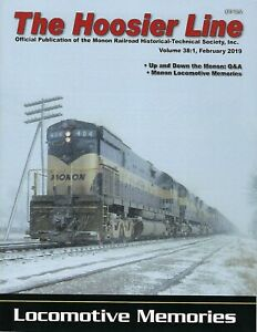 The-HOOSIER-Line-MONON-Railroad-Historical-Society-1st-Qtr-2019-NEW-issue