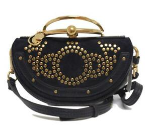 New-1950-Chloe-Nile-Blue-Minaudiere-Constellation-Studs-Clutch-Crossbody-Bag