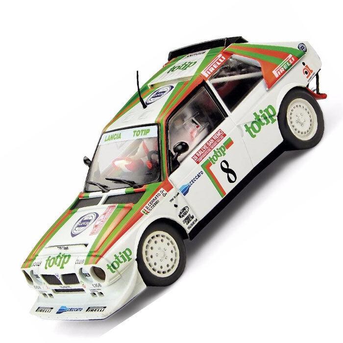 SCX Scalextric Totip Lancia Delta Intergrale S4 Rally Slot Car 1 32 A10153