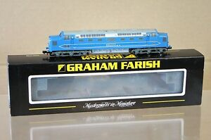 GRAHAM-FARISH-371-278-KIT-BUILT-CJM-BR-BLUE-PROTOTYPE-DELTIC-CLASS-55-DP1-LOCO-m