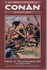 Chronicles-of-Conan-Vol-9-Riders-of-the-River-Dragons-amp-Others-2005-TPB-OOP