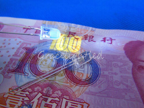 10pcs 5 mm ronde 365 Presque comme neuf 370 Presque comme neuf Ultra Violet UV DEL lampe perles 3.2-3.6V