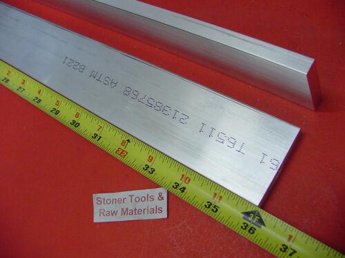 "2 Pieces 1//2/"" X 3-1//2/"" ALUMINUM 6061 FLAT BAR 36/"" long T6 .500/"" Solid Mill Stock"