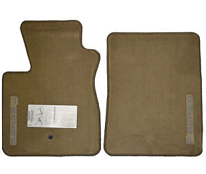 New Oem Original Tan Floormat Set Ford Truck 1997 1998