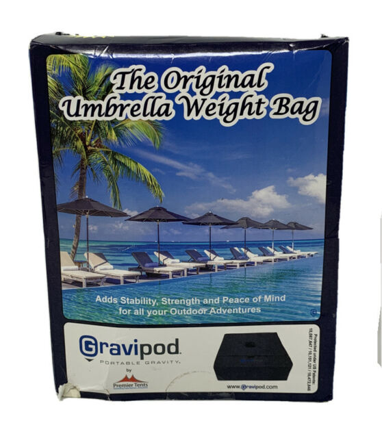 """Cantilever Umbrella Base Square 18/""""x18/"""" Heavy Duty Weight Bag up to 110 lbs NEW"""
