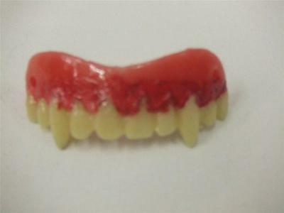 Vampire Teeth fangs  Veneers with Dental Putty  Twilight Halloween  Blade