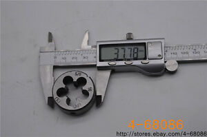 1pcs 9//16-18 tap 1pcs 9//16-18 die UNF British US made right hand taper S