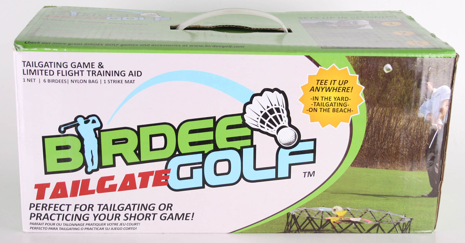Long Ridge Ridge Ridge Birdee Federball-Spiel Farbe Grün 443556