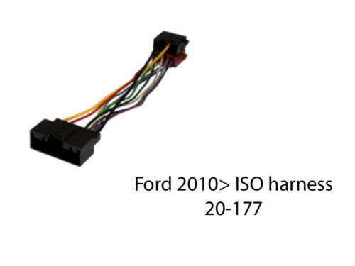 20-177 FORD TRANSIT CUSTOM EURO 5 2013 to 2017 ISO HARNESS ADAPTOR LEAD
