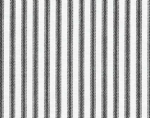 Home Decor FabricClassic Black White Ticking StripePremier Prints