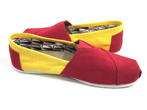 bc9b1a92e52 Image is loading NEW-TOMS-Classics-Slip-ons-in-RED-amp-