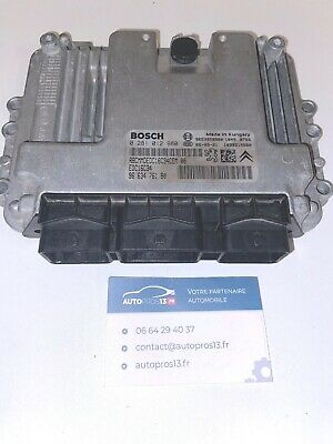 Calculateur décodé EDC16C34 CITROEN C4 PICASSO 1.6 HDI 0281014729 9665674480