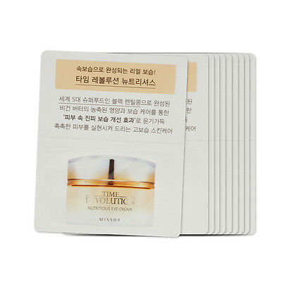 [Sample] [Missha] Time Revolution Nutritious Eye Cream x 10PCS