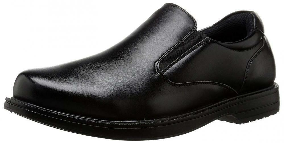 Deer Stags Men's King Memory Foam Water Repellent Slip-On Resistant Dress Loafer