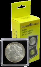 30 Lighthouse Quadrum 31mm Square Coin Capsules Half Dollar Loose Fit Holders