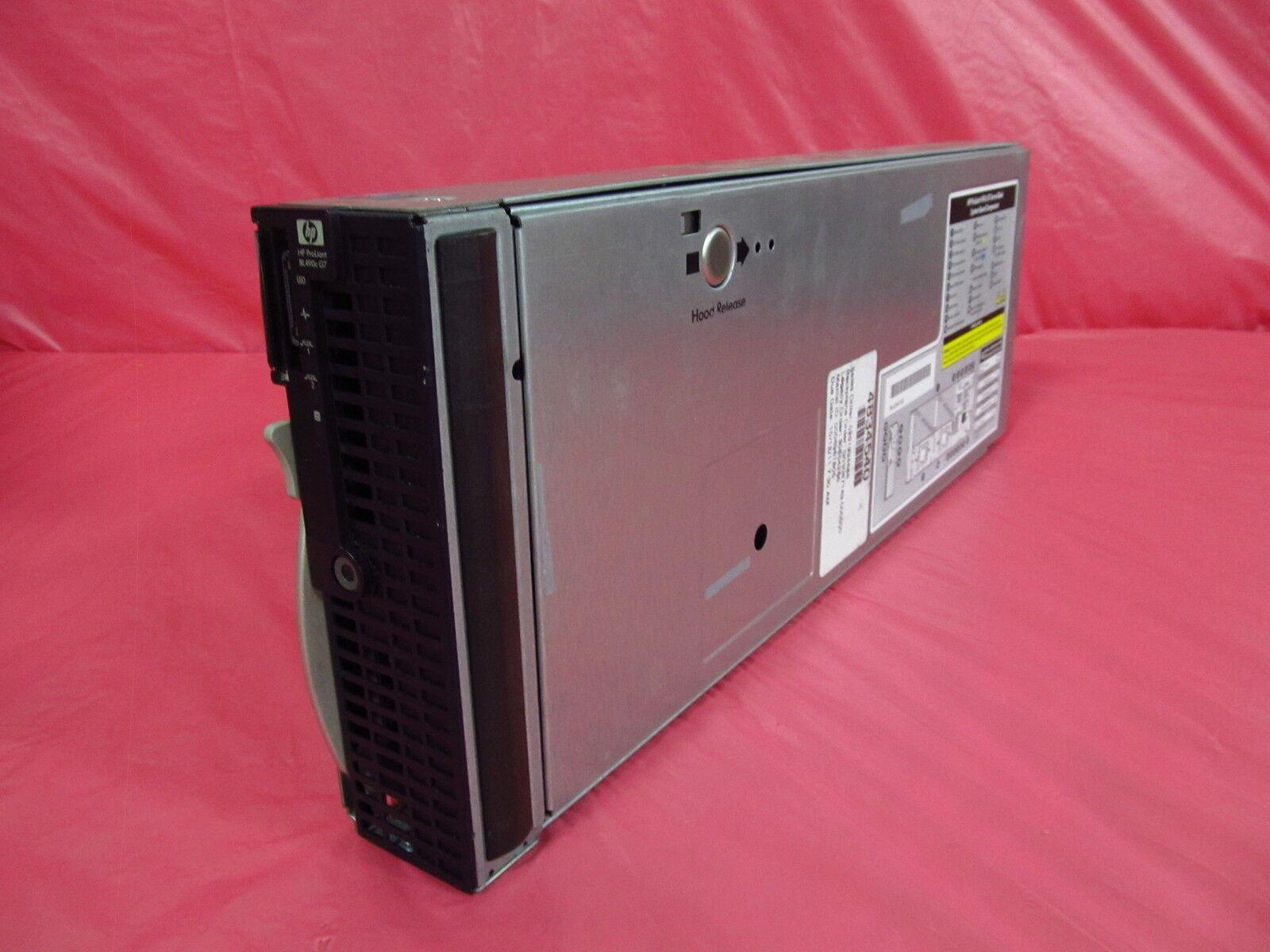 No CPU NO MEMORY BL490C G7 CTO 603719-B21 INCLUDES 2 HEATINKS