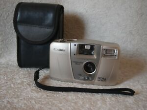 Canon Prima BF-800 28mm point and shoot film camera