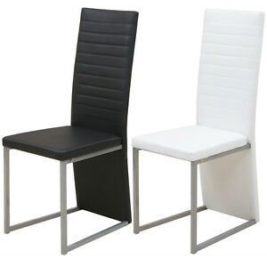 2-4-6xEsszimmerstuhl-Kuechenstuhl-Stuehle-Sitzgruppe-Stuhlgruppe-Hochlehner-modern