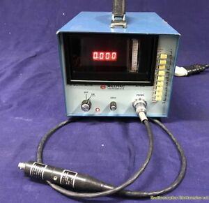 RF Millivoltmeter MILLIVAC MV-723B