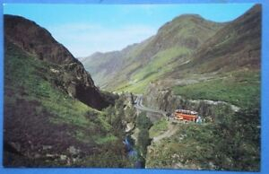 POSTCARD-ABERDEENSHIRE-GLEN-COE-LOOKING-INTO-THE-GORGE