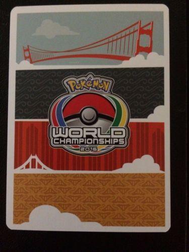 4X Frogadier 39//122 -2016 World Championship-Cody Walinkski-NM Pokemon Promo