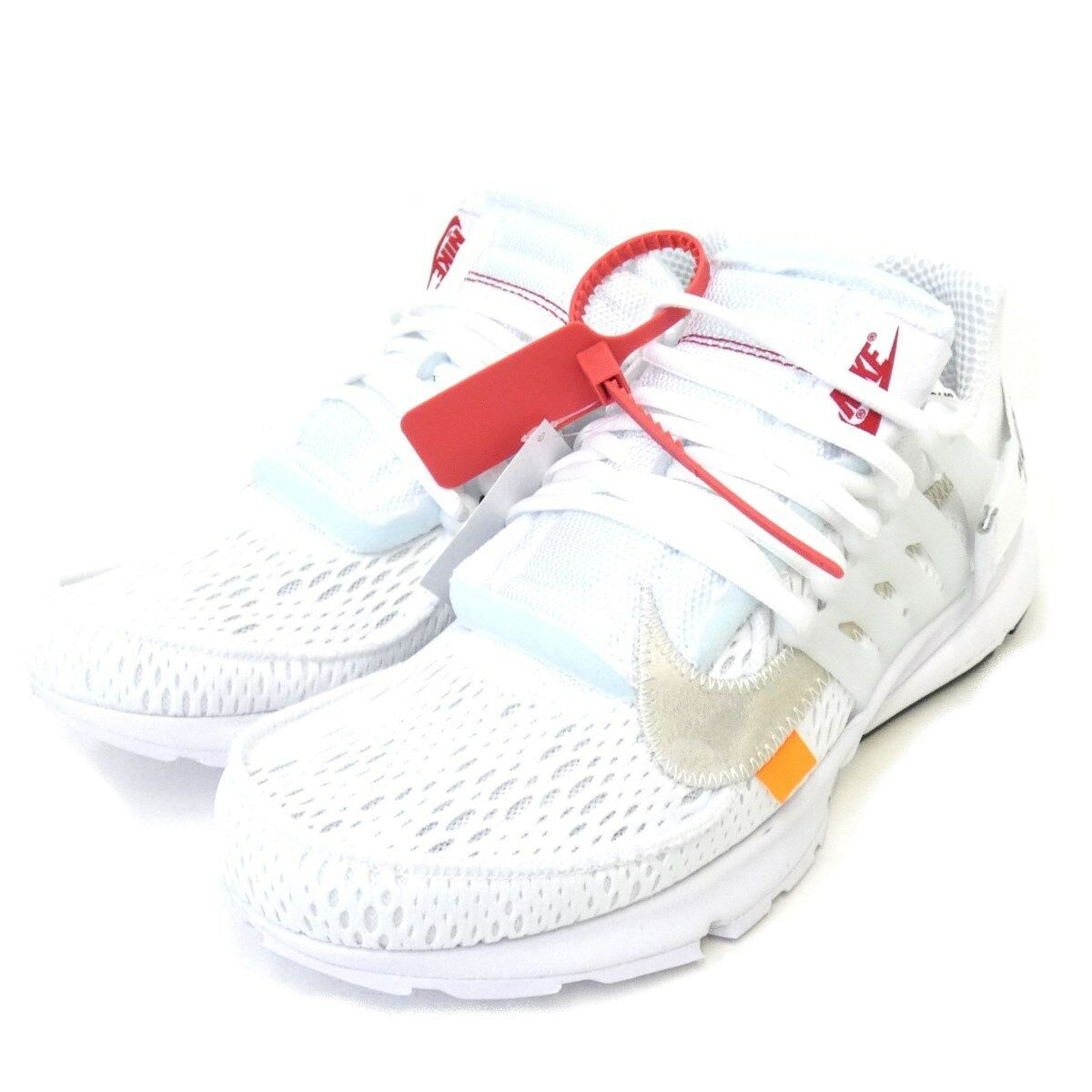 NIKE OFF WHITE AA3830100THE 10 AIR PRESTO low-cut sneakers size 27cm 170918 (K19