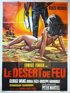 Plakat-Kino-Le-Desert-De-Feu-Edwige-Fenech-120-X-160-CM