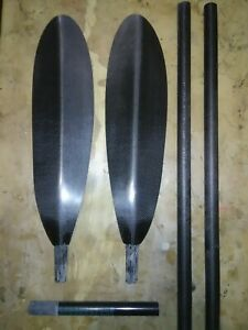 Carbon Fiber lightest 2pc.10cm adjustment. Kayak Paddle ONNO Full Tour Kit