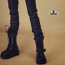1/4 BJD Shoes MSD Supper Dollfie DREAM PUNK Black Boots MID DOD SOOM AOD EID DZ