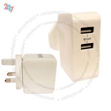 2.4A Max 2 puertos USB Cargador Adaptador inteligente chip ic para todos los teléfonos Samsung S247