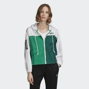 Camarada corazón Proscrito  Adidas Originals Mujer Cortavientos Verde Bloque Color Active Ropa ED7433 |  eBay