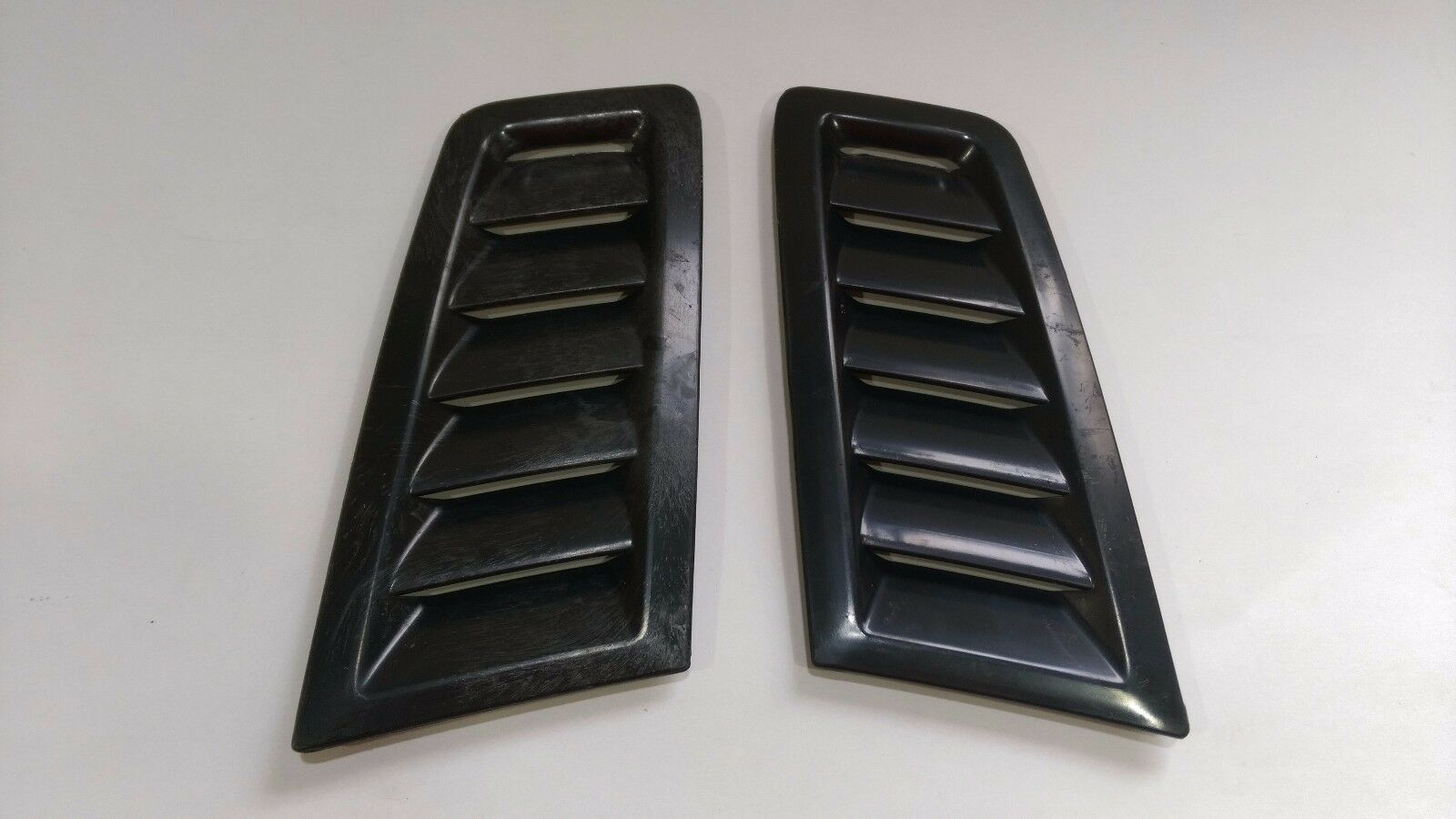 KIMISS ABS Car Bonnet Air Vent Modified Hood Air Venty Fits for RS MK2 platingSI-AT26104