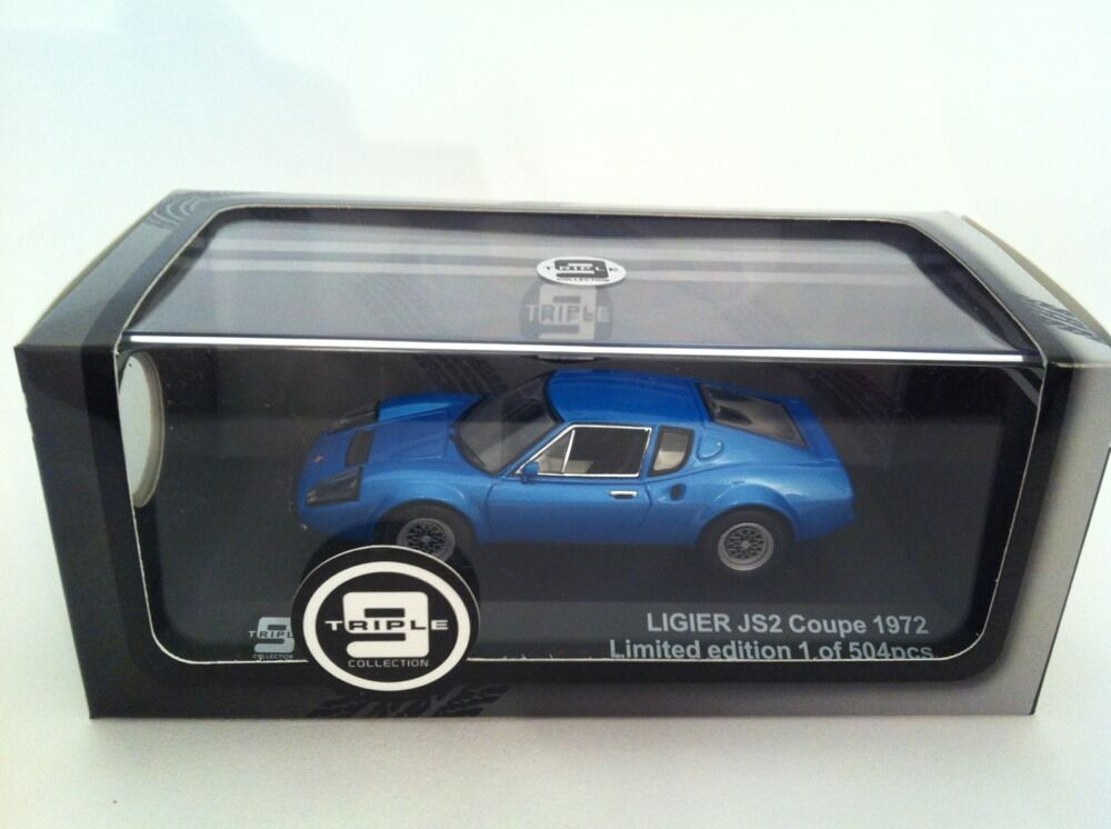 Ligier Js2 Js2 Js2 Coupé Baujahr 1972 Blau Metallic 1 43 Triple9   Premium X Neu ced2ca