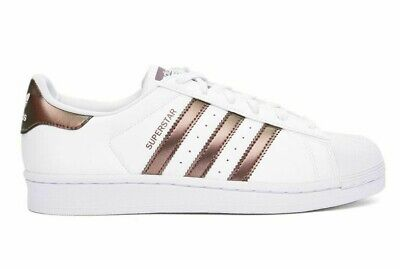 adidas shell toe rose gold