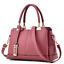 Women-Leather-Handbag-Ladies-Tote-Messenger-Shoulder-Purse-Satchel-Crossbody-Bag miniature 2