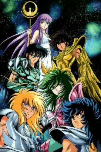 Poster Saint Seiya Japan Anime Boy Room Wall Cloth Poster Print 1