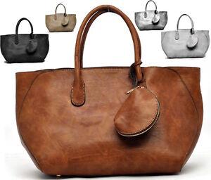 bd9d87f693 Caricamento dell'immagine in corso borsa-donna-grande-shopping-bauletto- pelle-tracolla-spalla-
