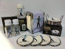 Elvis Presley Gift Set - Coasters, Napkin and Toothpick Holders, Salt & Pepper