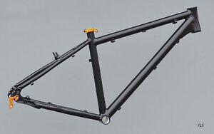 Trekkingrad-Sport-Rahmen-43-cm-schwarz-matt-28-034-Aluminium-STD-NR725