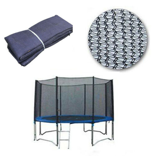 8 POLES NEW 10FT REPLACEMENT TRAMPOLINE SAFETY NET ONLY ENCLOSURE SURROUND