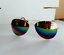 Women Men Glasses Aviator Mirror Lens Sunglasses Fashion Unisex Vintage Retro